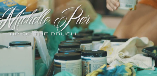 Michelle Pier: Tip of the Brush: Artist Spotlight film by James Davis
