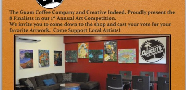 Vote for Your Favorite Artwork in the Local Art Competition by Guam Coffee & Creative Indeed