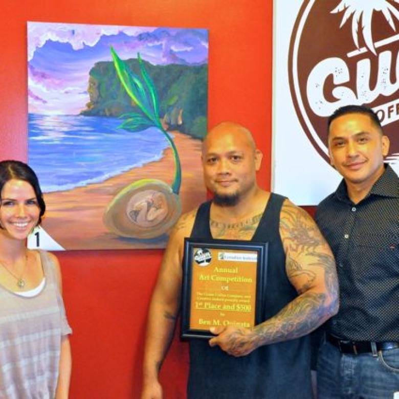 2014 Art Competition Collaboration with Guam Coffee Company