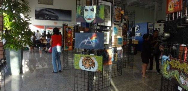 JFK High School Students Exhibit Over 200 Pieces
