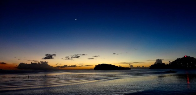 Sunset & Twilight on Guam~ Alupang Cove