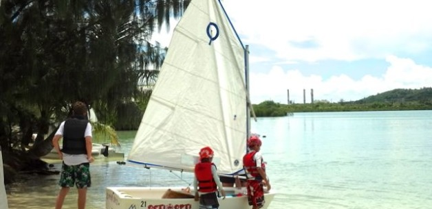 Marianas Yacht Club Holds Sailing Lessons for Kids on Guam