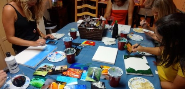 Private Creative Sessions ~ Host Your Own Art & Wine Night