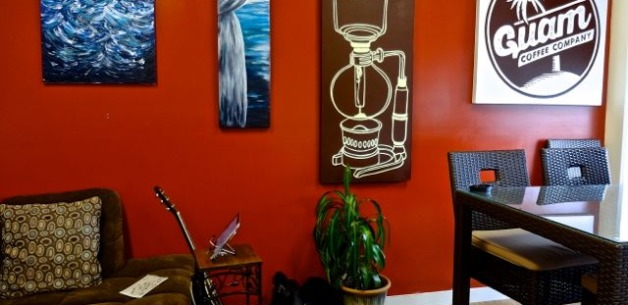 Guam Coffee Company: Local Art Exhibited & For Sale