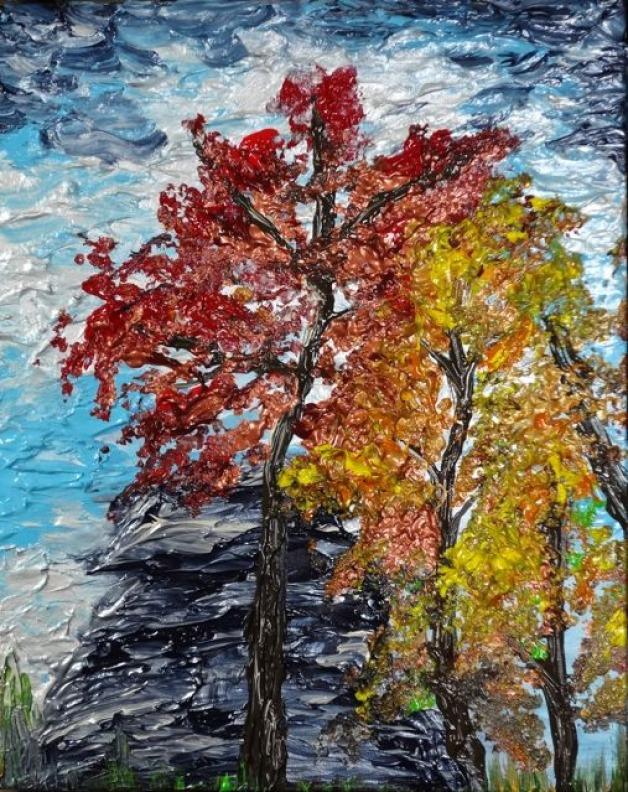 East Coast Autumn Abstract