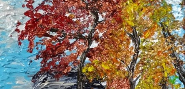Creation Spotlight: An East Coast Autumn Painting