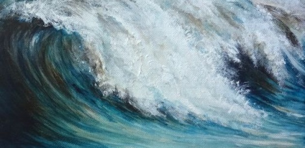 Creation Spotlight~ Wave of Peace Painting