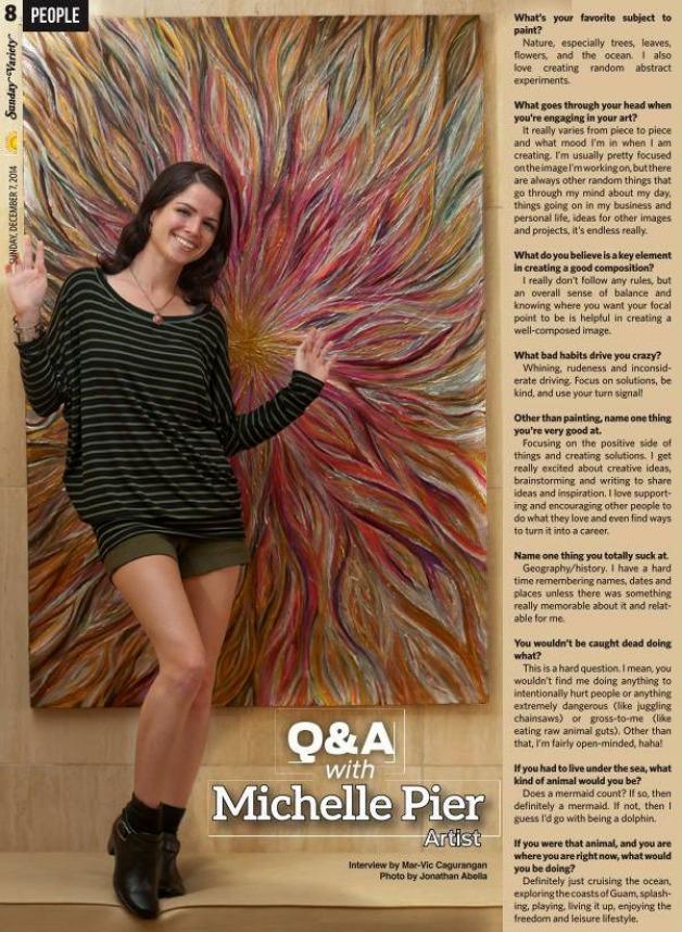 Mariana's Variety Q&A