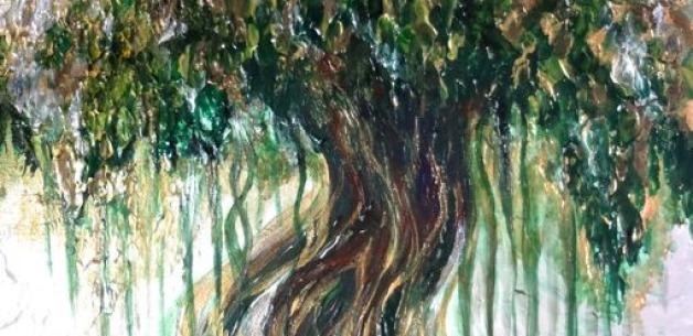 Nunu Tree of Abundance Painting