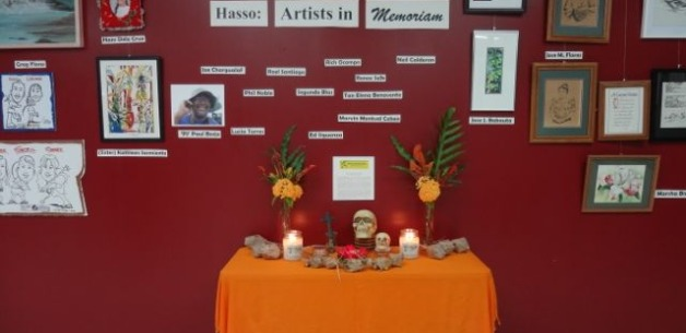 A Night of Remembrance art exhibit at CAHA called Hasso: Artists in Memoriam