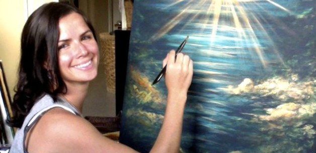 I Puti'on (the Star): A Time Lapse Painting Video & Photos