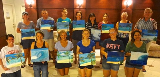 Host Your Own Private Painting Party on Guam
