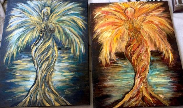 Moon & Sun Coconut Sisters