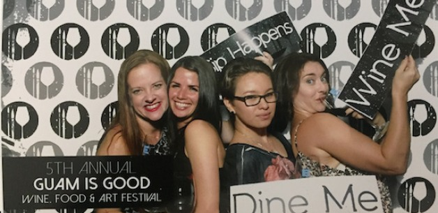 "Fun at the ""Guam is Good"" Wine, Food & Art Festival"
