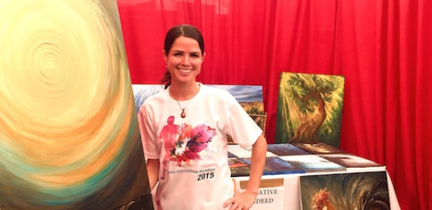 Creative Indeed Exhibits Art at the Guam International Marathon Expo