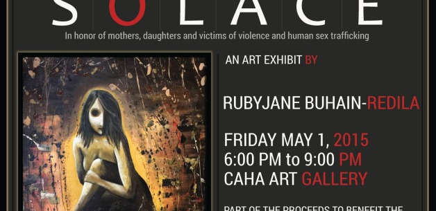 "Solace: An art exhibit based on ""The Madam,"" depicting reality of human sex-trafficking"