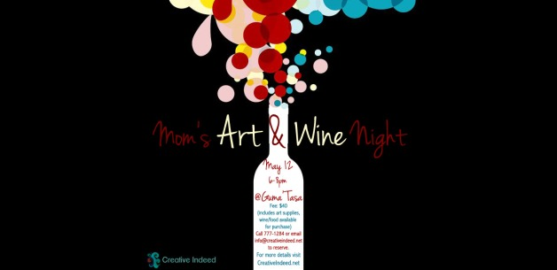 Mom's Art & Wine Night to Be Held at Guma' Tasa